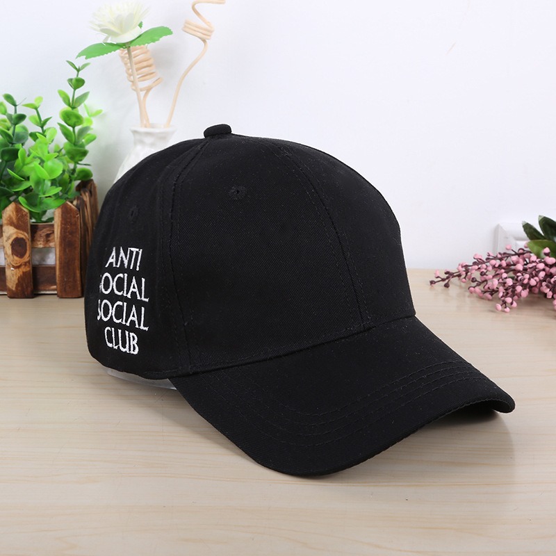 2016 Men Women New Black Baseball Cap Snapback Hat Hip-Hop Adjustable Bboy Cap