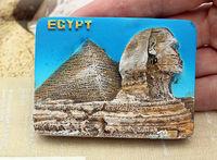Egyptian Pyramids Great Sphinx Egypt Tourist Travel Souvenir 3D Resin Refrigerator Magnet Craft GIFT IDEA