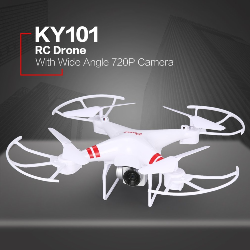 Rc-Drone Quadcopter Camera One-Key-Return-Drones Professional Foldable KY101 with HD