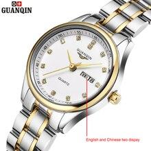 Brand GUANQIN women s watches quartz watch women quartz watch crystal vintage business relogio feminino classic