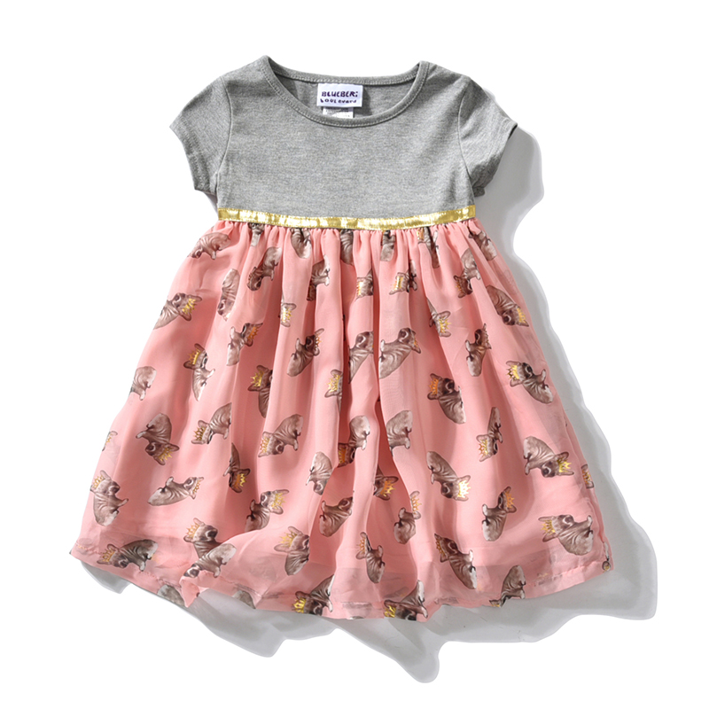 Baby Girls Dresses Summer Cotton Toddler Kids Chiffon Party Birthday Tutu Dresses Infant Princess Dresses For Girl Clothing summer baby girls dress ice cream print 100% cotton toddler girl clothing cartoon 2018 fashion kids girl clothes infant dresses