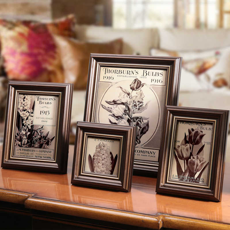 Luxury Mini Photo Frame Frames for Wall Baby Photo Frames for Picture Wall marcos de fotos marcos de fotos pared