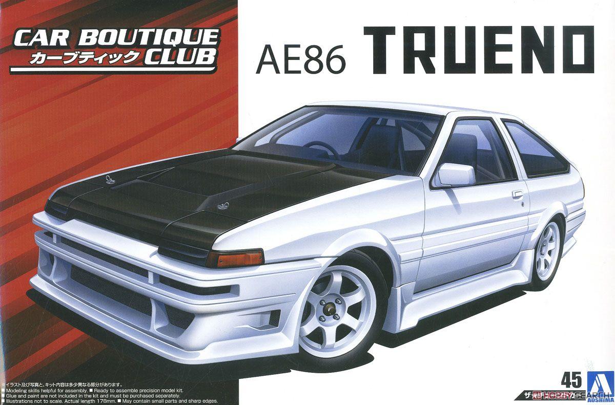 1/24 Car Boutique Club AE86 Trueno85 055121/24 Car Boutique Club AE86 Trueno85 05512