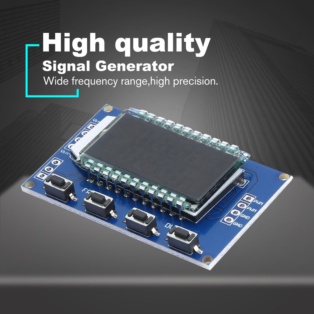 XY-LPWM Pulse Frequency Duty Cycle Adjustable Module 1Hz-150Khz Signal  Generator PWM Board Module LCD Display 3 3V-30V