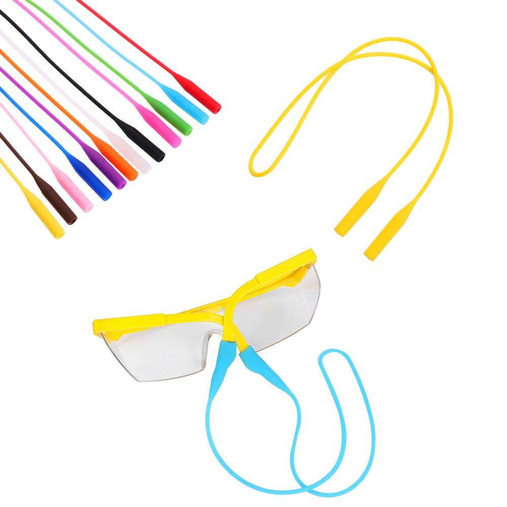 Sunglasses Chain Sports-Band Silicone String-Ropes Cord-Holder Anti-Slip Elastic Women