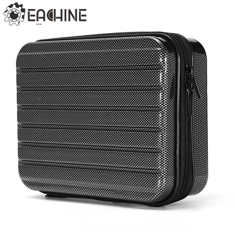 Eachine E58 RC Drone Quadcopter Hard Shell Waterproof Carrying Case Storage Box Handbag for FPV Racing Drone Accessories Parts waterproof spark bag box case accessories for dji spark drone storage bag carry case