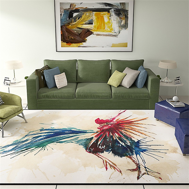 Artistic Individuality Painting Rooster Parlor Living Room