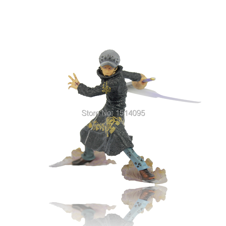 5 One Piece The Surgeon of Death Trafalgar Law After 2 Years Battle Ver. PVC Action Figure Collection Model Toy OP002 free shipping 5 7cm japanese one piece after 2 years pvc action figure tea lunch collection model toy 9pcs per set