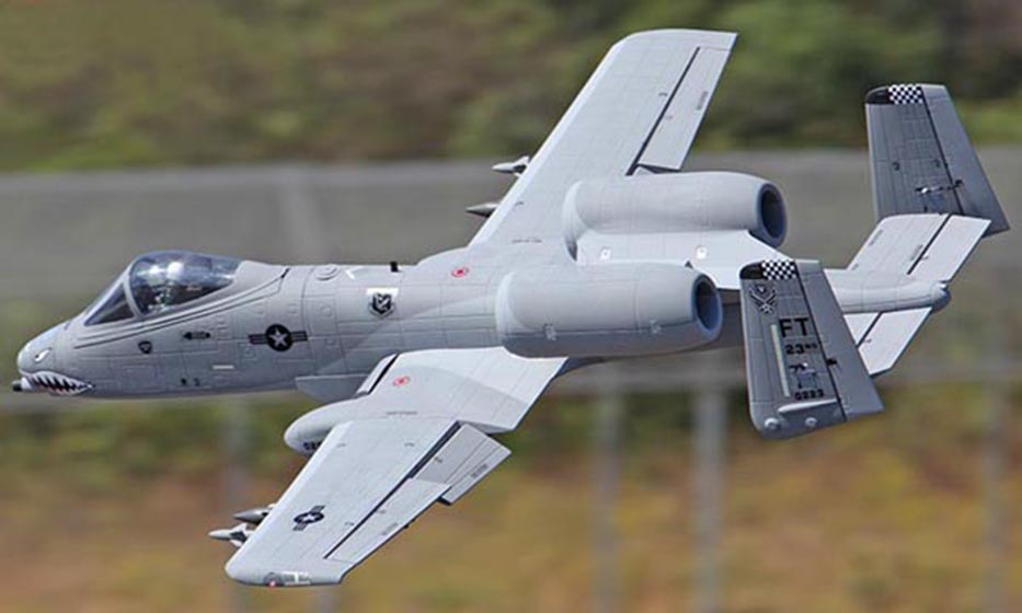 Scale Skyflight  EPS Metal 70MM EDF A10 Warthog RTF Plane Jet Model W/ Motor Servos ESC Battery