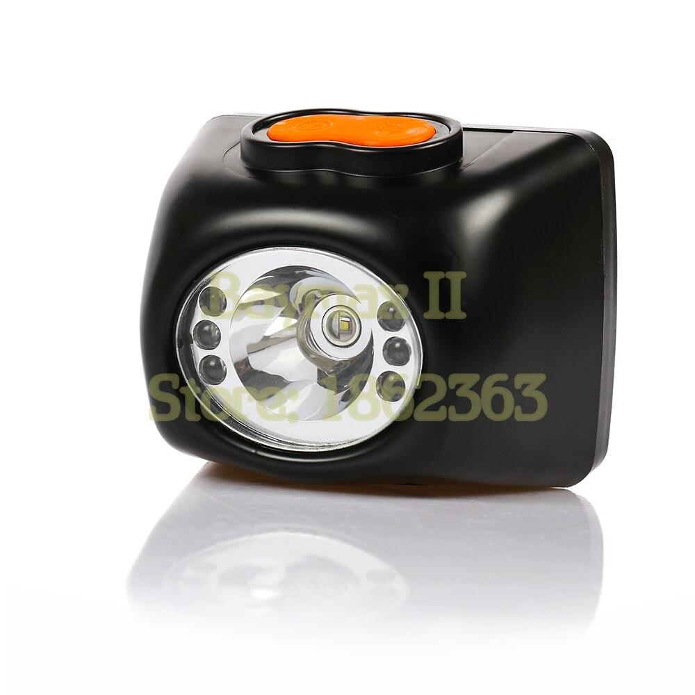 3 W Cree Led Projecteur Sans Fil, Bouchon de Sécurité Lampe LI-ion Batterie LCD Affichage pour camping, l'exploitation minière, la chasse et randonnée