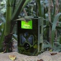JS055A Jagd Kamera 12MP HD Wildlife Trail Kamera Fallen 1080 P Infrarot-nachtsicht Tier Scouting Cam mit Fernbedienung