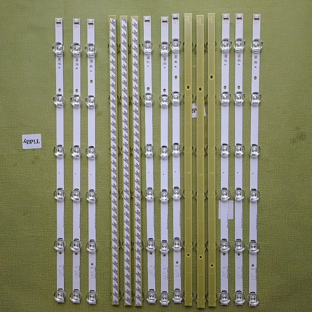 "LED backlight strip 6 lamp for LG 32""TV 32MB25VQ 6916l-1974A 6916l-1981A lv320DUE 32LF580V 32LB5610 innotek drt 3.0 32 32LB582V"