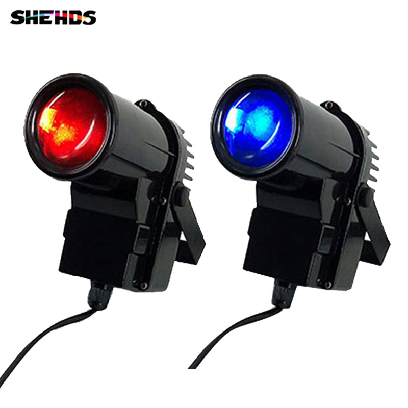 2pcs/lot 10W RGBW Pinspot Beam LED Lights Business Lights With Professional For Party KTV Disco DJ DMX512 4/8 Channels