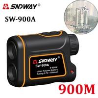 Genuine SNDWAY SW 900A 5 900M 2952ft Digital 6x Handheld Monocular Telescope Laser Rangefinder Binoculars Distance