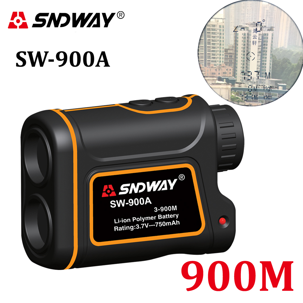 Telescope trena laser rangefinders distance meter Digital 8X 900M 1000M Monocular hunting golf laser range finder tape measure купить