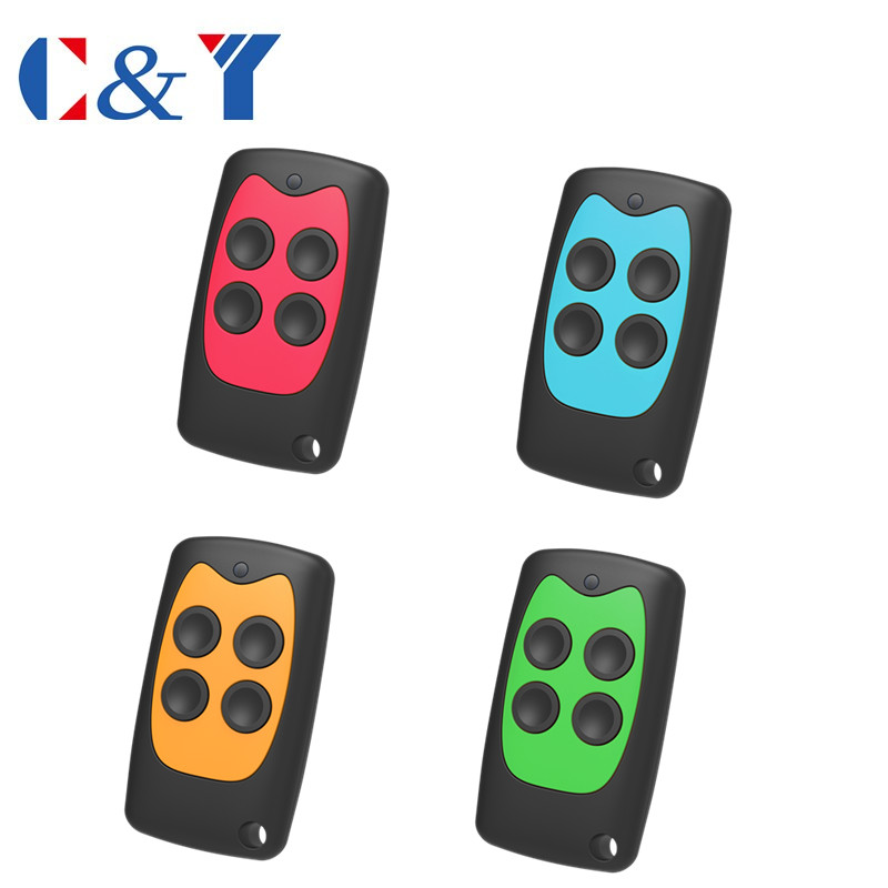New design free shipping cost 100pcs 433 92MHz 4 channel universal remote control duplicator Copy