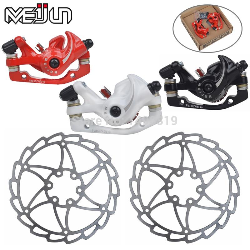 Meijun biçikletë malore para dhe pasme e frenave të diskut të - Çiklizmit