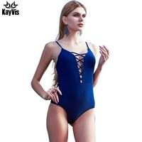 2016 Sexy One Piece Swimsuit Swimwear Women Brazilian Bathing Suit Cover Ups Beach Wear Bodysuit Print