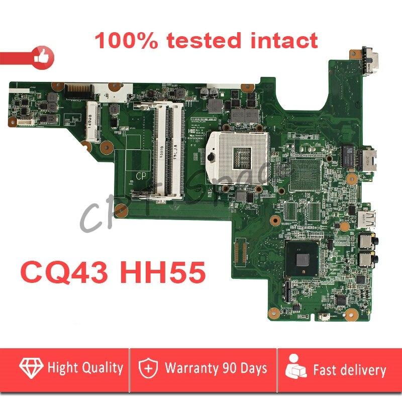 HM55 CQ43 CQ57 carte mère Pour HP CQ43 CQ57 430 431 435 630 635 Ordinateur Portable Carte Mère PGA989 DDR3 P/N657324-001 100% testé intact