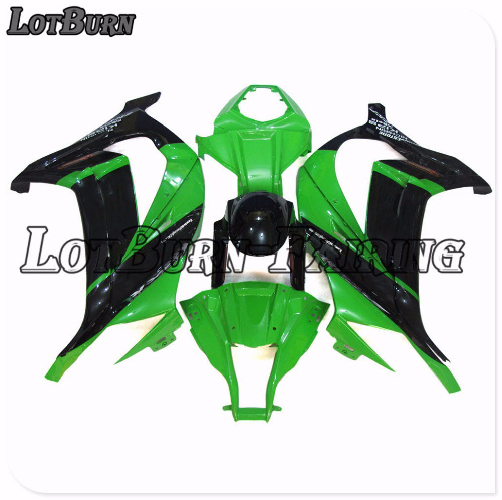Buy Custom Made Motorcycle Fairing Kit Fit For Kawasaki ZX10R ZX-10R 2011-2015 11 - 15 ABS Fairings fairing-kit Injection 012 for only 457 USD