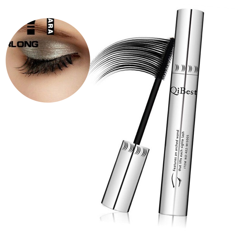 Berufs Heißer <font><b>3D</b></font> <font><b>Mascara</b></font> Natürliche <font><b>3D</b></font> Wasserdichte Faser Schwarz <font><b>Mascara</b></font> Wimpern Lange Curling Wimpern Verlängerung Make-Up Flauschigen Volumen image