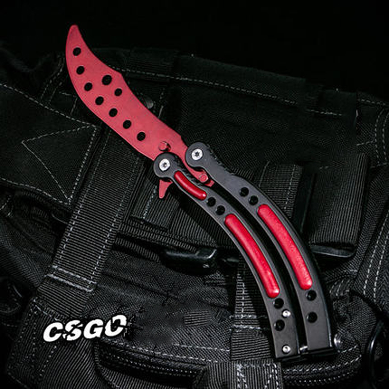 Karambit Handmade Knifes from CS go Counter Strike Fighting Survival font b Tactical b font font