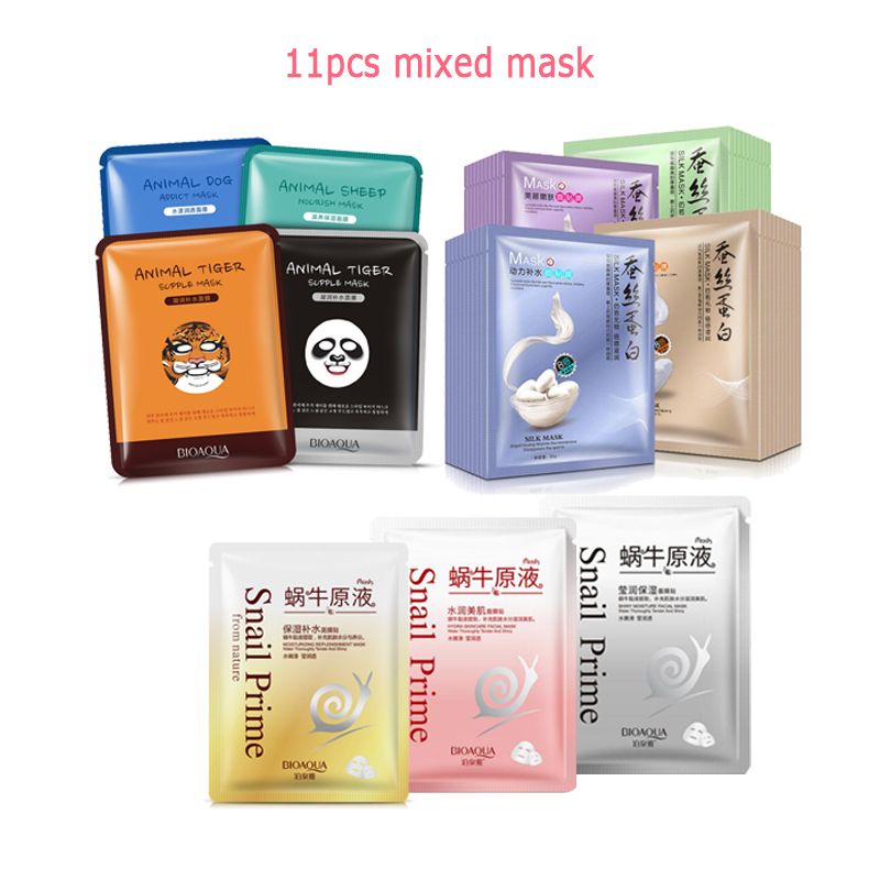BIOAQUA Skin Care Black mud Facial face mask Deep Cleansing purifying Remove blackhead facial mask strawberry nose Acne remover 7
