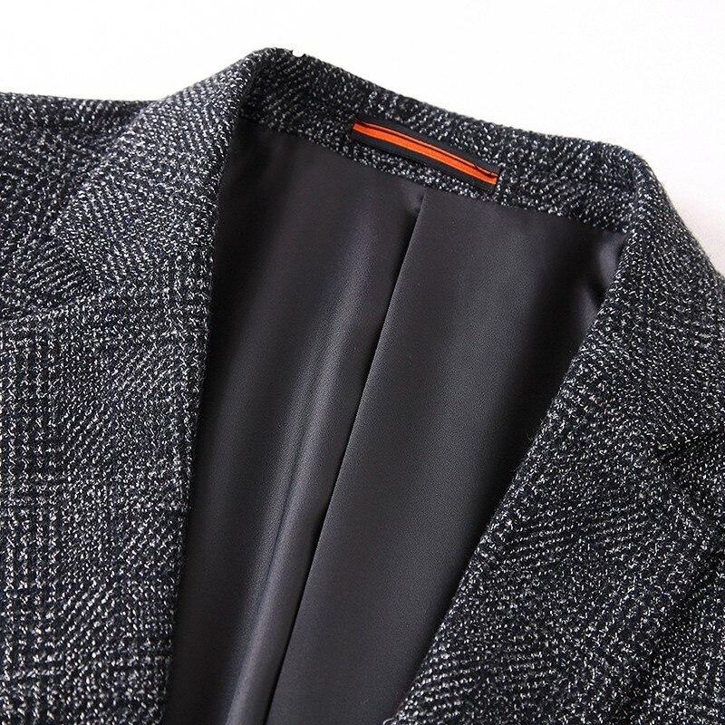 Nouveau Modo Haute Plus Braseur Taille 5xl De 6xl Casual Traje 7xl Slim Hombres Gray Qualite 2019 Printemps Arrivée La BdaqwxB7