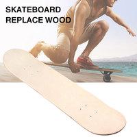 8 Inch Crafts Blank Skateboard Decks Double Skate Decks Double Concave Deck Wood Durable