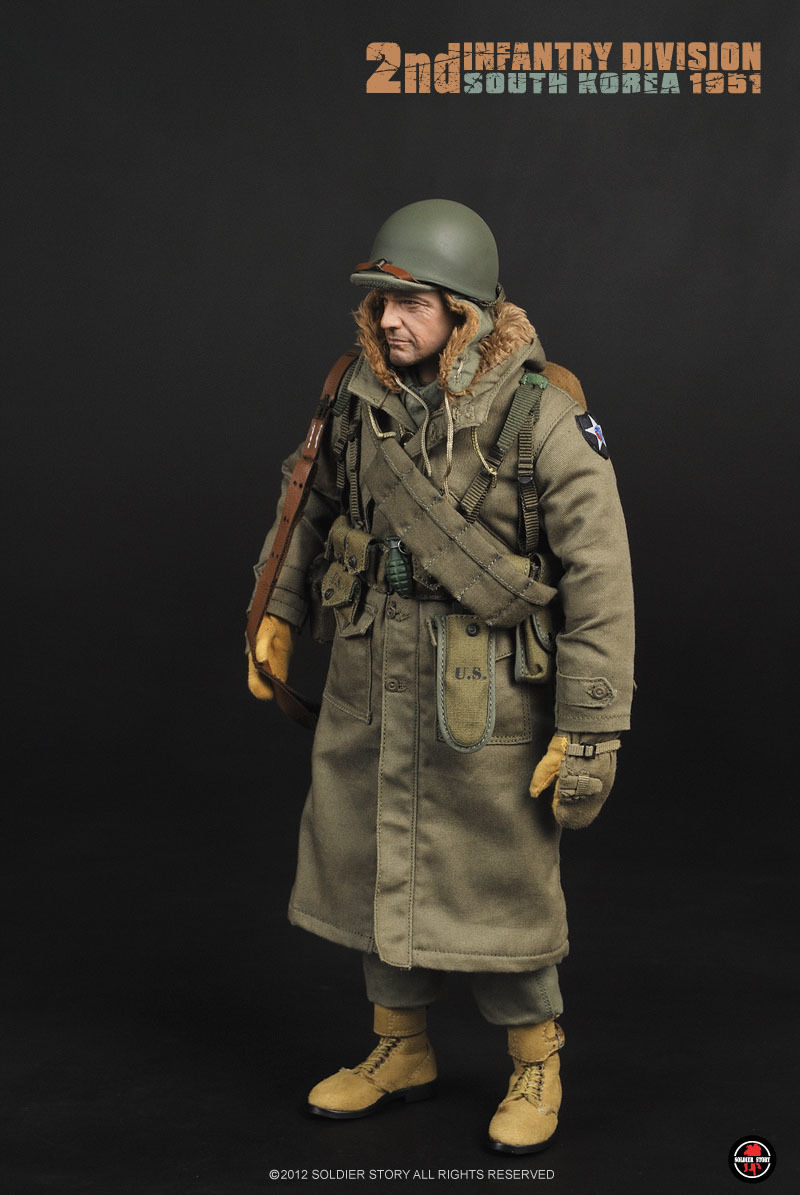 SoldierStory SS069 World War II US Second Infantry Division 1/6 Soldier Action Figure Model
