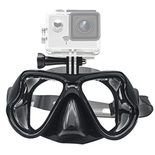 متعدد الألوان قناع الغطس الغوص غص السباحة Googgles خفف نظارات ل GoPro بطل 7 6 5 4 3 شاومي يي 4K SJCAM EKEN H9