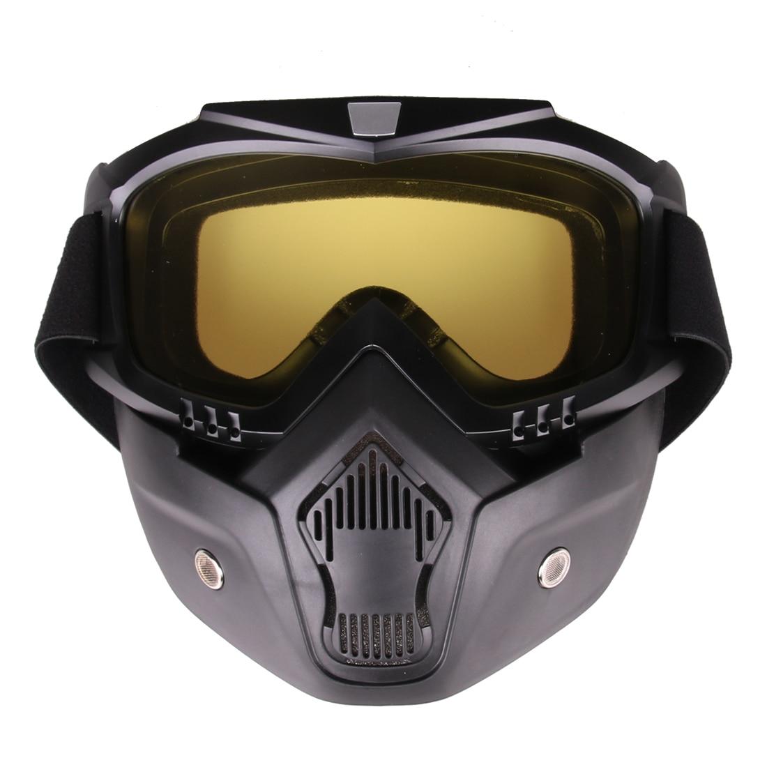 Classic Style Tactical Mask Soft Bullet Dart Beskyttende Spejl Face - Rekreation og sport i open air
