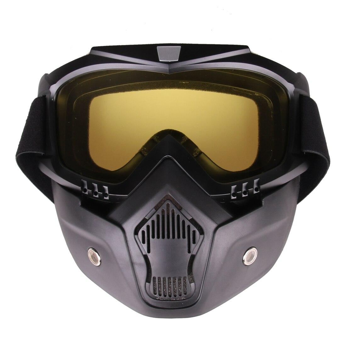 ᗜ LjഃEstilo clásico máscara táctica suave DART espejo protector ...