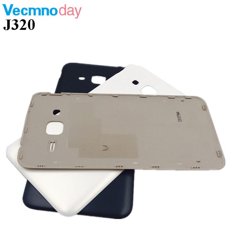 Vecmnoday Nouveau Logement Pour Samsung Galaxy J3 2016 J320 J320F J320H Batterie De Cas de Couverture Arrière Porte Pièces De Rechange