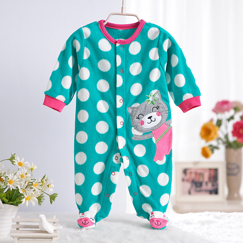 0-12M-Autumn-Fleece-Baby-Rompers-Cute-Pink-Baby-Girl-Boy-Clothing-Infant-Baby-Girl-Clothes-Jumpsuits-Footed-Coverall-V20-2