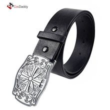 Far Cry 5 Cosplay Accessories Joseph Seed Belt Buckle FARCRY Belts Hot Game Prop CosDaddy