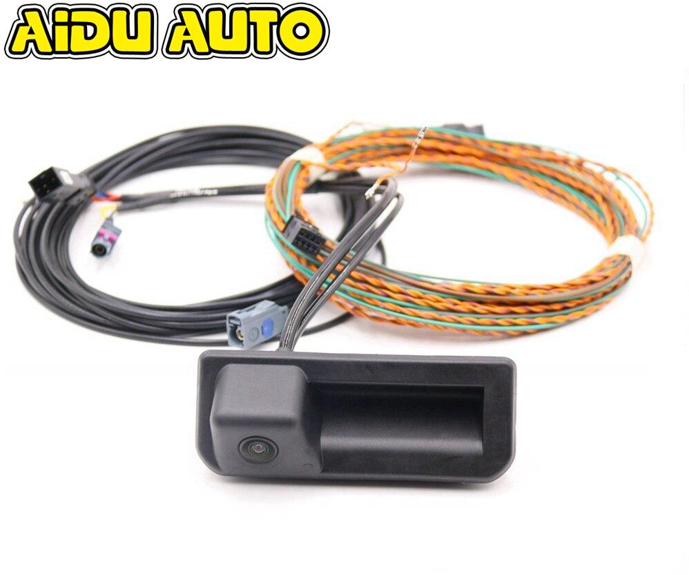 Линия управления камерой заднего вида для Audi A5 B9 8W NEW Q5 Q2 Q3 F3 A1 GB A6 C8 8W8 827 566 E Kodiaq Jetta 2020 MK7