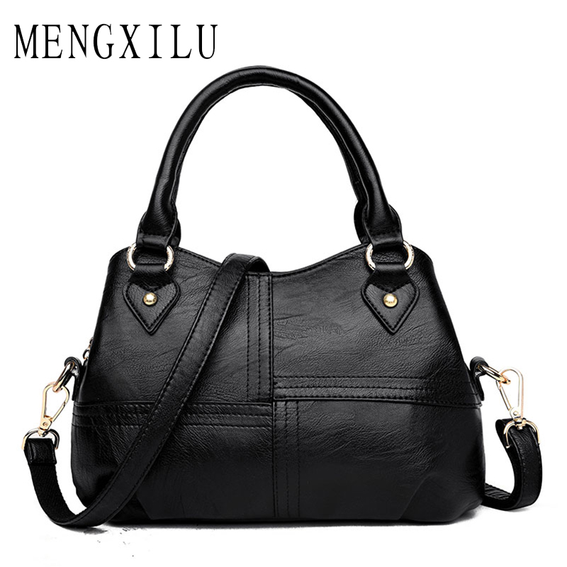 MENGXILU Brand Tote Luxury Handbags Women Bags Designer Handbags High Quality PU Leather Bags Women Crossbody Bag Ladies New Sac 2017 women bag luxury brand handbags women crossbody bags designer pu leather casual tote bag ladies messenger bags fashion sac