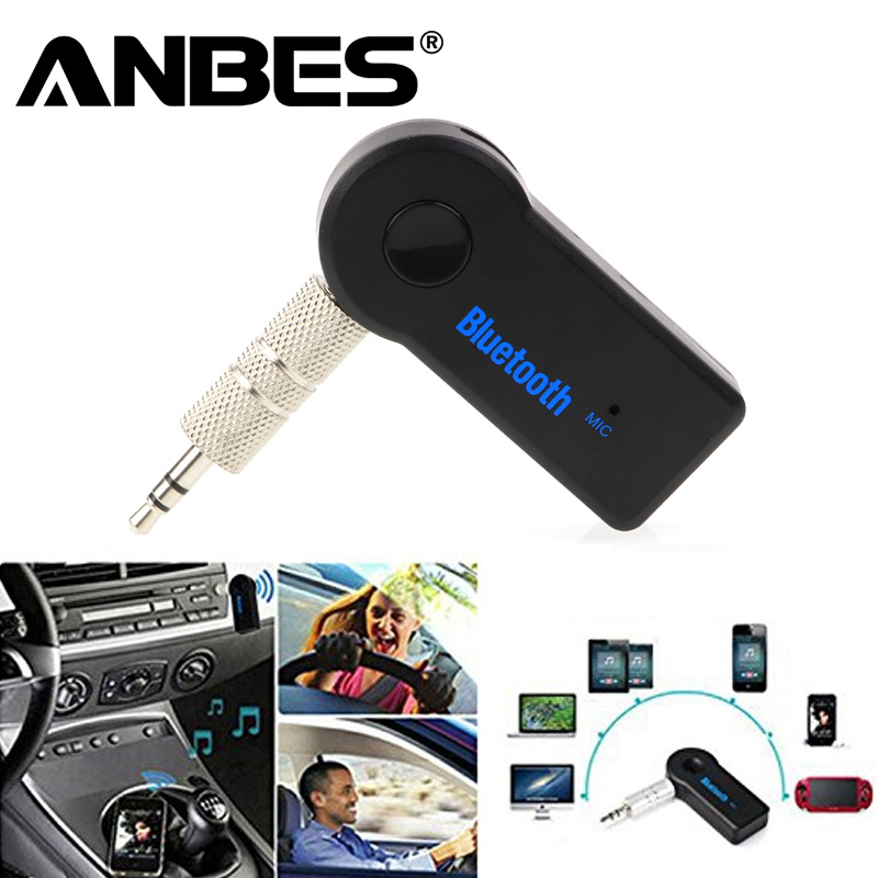 Car Bluetooth Handsfree Music Receiver Universal 3.5mm Streaming A2DP Wireless Auto AUX Audio