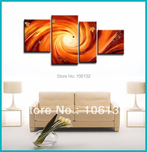 Aliexpress.com : Buy Framed 4 Panel Large High End Stunning ...