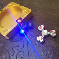Multi Color Tri Spinner Triangle Gyro Beyblade Hand Finger Spinner Topbar Fidget Focus Toy EDC Desk