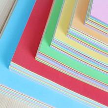 100 шт., квадратная бумага для оригами, двухсторонняя, одноцветная, складная бумага, многоцветная, для детей, ручная работа, сделай сам, скрапбукинг, ремесло, Декор