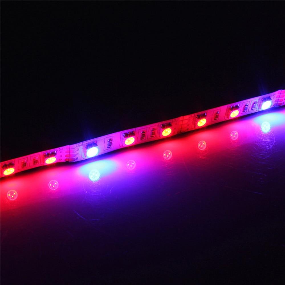 LED-växtväxelljus 5050 LED-remsa DC12V Rödblå 3: 1, 4: 1, 5: 1, - Professionell belysning - Foto 2