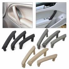 3pcs/set Grey Beige Black Interior Door Handle For Volkswagen Passat B5 inner armrest