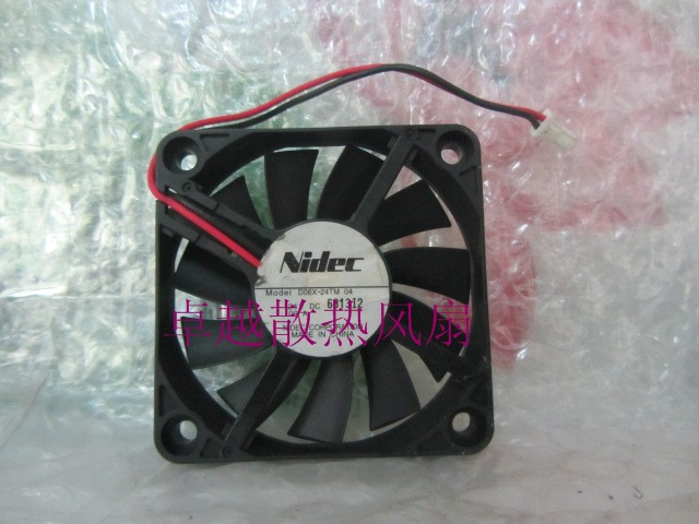 Nidec d06x-24tm 04 <font><b>24v</b></font> . 09a <font><b>6010</b></font> cooling <font><b>fan</b></font> image