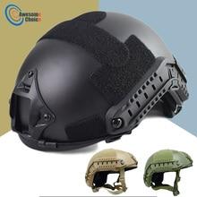 Kwaliteit Militaire Tactische Helm Snel Pj Cover Casco Airsoft Helm Sport Accessoires Paintball Fast Springen Beschermende