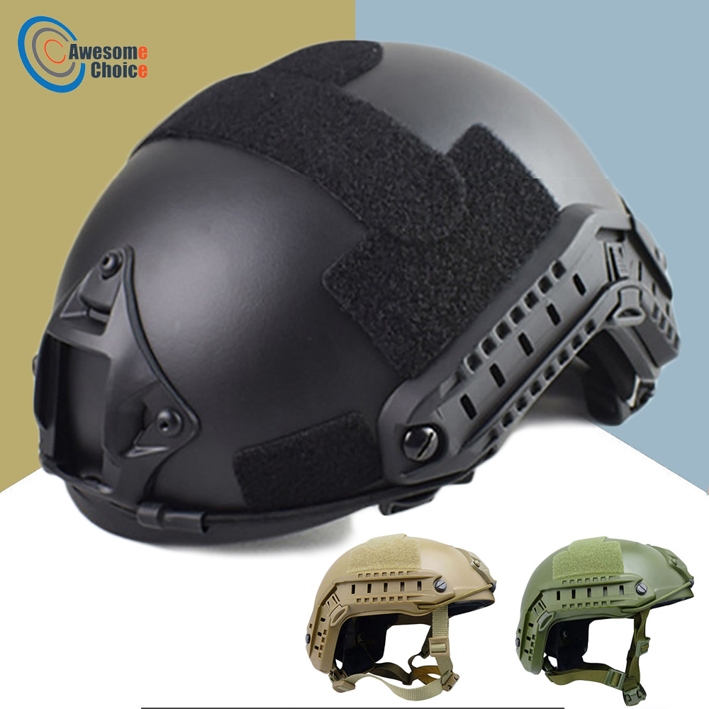 Quality Military Tactical Helmet Fast PJ Cover Casco Airsoft Helmet Sports Accessories Paintball Fast Jumping ProtectiveHelmets   -