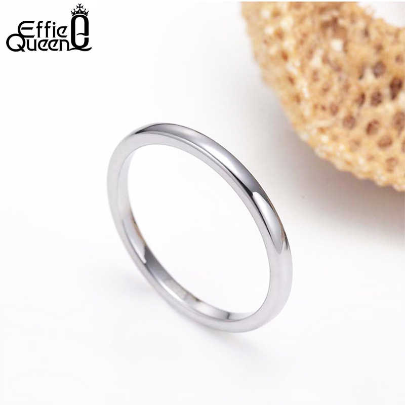 Effie Queen ของแท้ 925 เงินสเตอร์ลิงแหวนผู้ชายผู้หญิงคู่แหวนหญิงแหวนขายส่งเครื่องประดับ BR74
