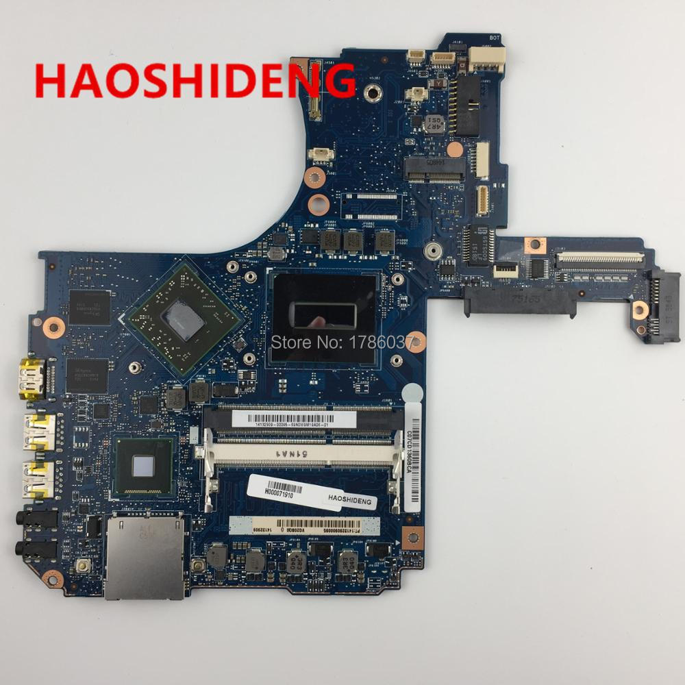 H000071910 For Toshiba P55 P55T P55T-B series Motherboard with 4710HQ 2.5Ghz processor, All functions fully Tested!! for toshiba satellite p55t a5118 p55t a5116 p55t a5202 p55t a5200 p55t a5312 p50t a121 10u p50t a01c 01n touch glass screen