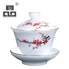 TANGPIN ceramic teapot kettle gaiwan handpainted teacup porcelain chinese kung fu tea sets